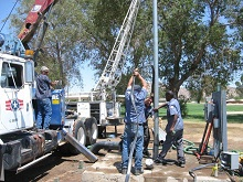 well drilling california
